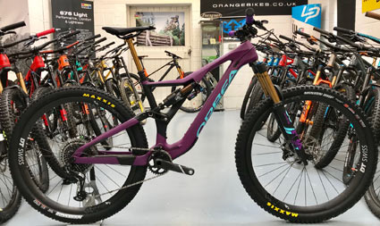 Orbea Rallon M Team 2018 ex display - Large