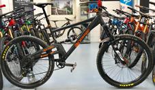 Orange Alpine 160 RS pre owned