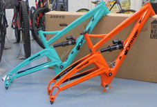 Orange Alpine 6 2018 frame offer