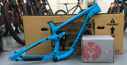 Transition Patrol frame and NX Eagle kit deal