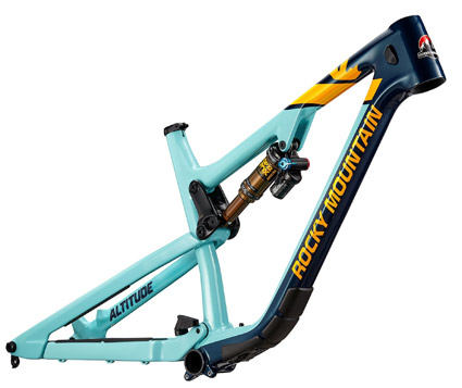 Rocky Mountain Altitude frame 2019
