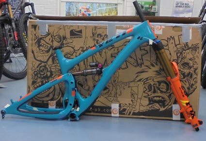 Yeti SB6 T Series Ltd Edition framekit