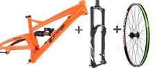Orange Alpine 6 framekit