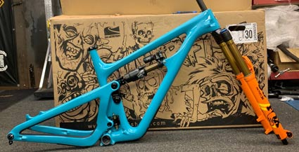 Yeti SB150 T Series frame and fork 2020