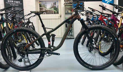 NS Bikes Snabb 130 Plus 1 2018 ex demo