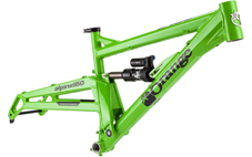 Orange Alpine 160 frame 2016