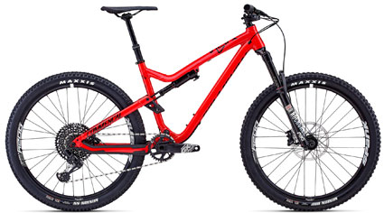 Commencal Meta Trail V4.2 Essential Shiny Red 2018