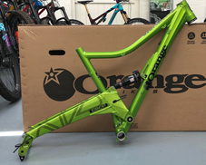 Orange Segment frame 2015 - pre owned
